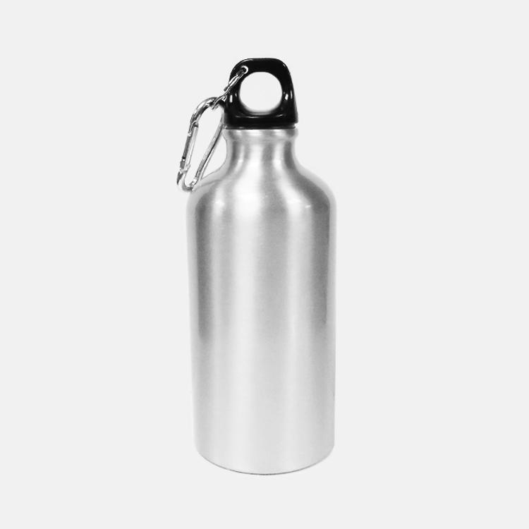 Алюминиевая спортивная бутылка с карабином