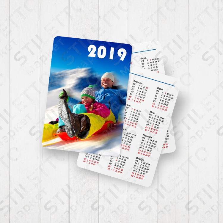 Календари карманные на 2019 год