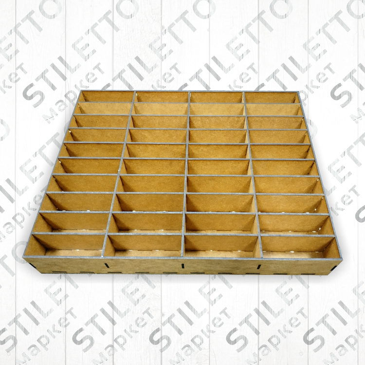 Ящик 4 х 10 на 40 ячеек