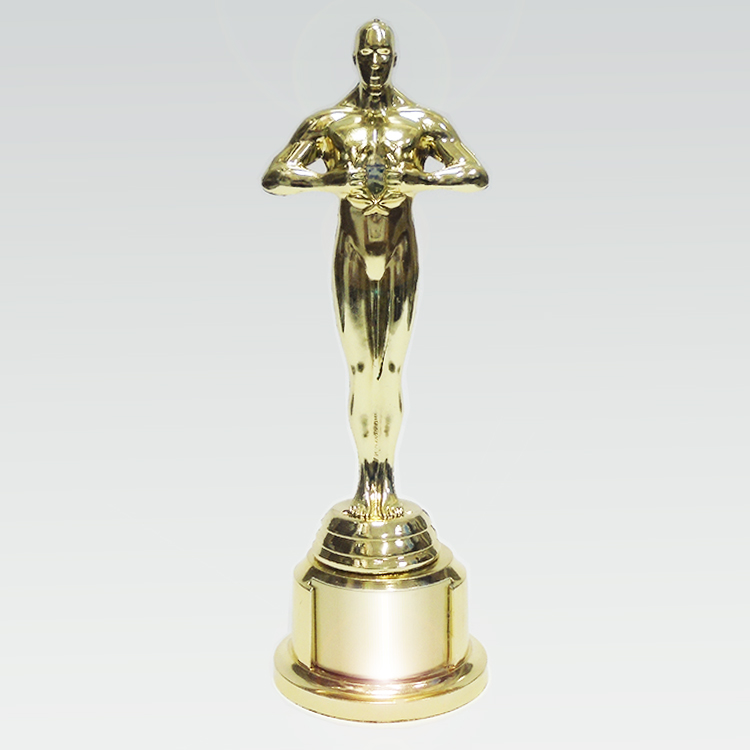 Статуэтка Премия «Оскар» с вырезом под шильд