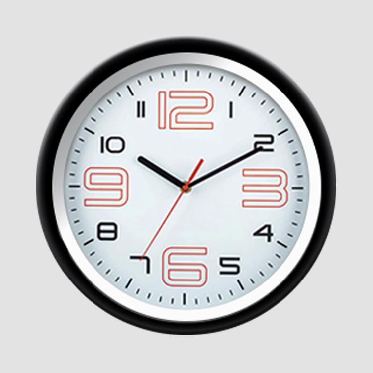 Часы настенные, круглые