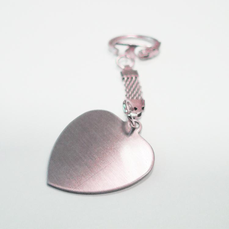 Брелок металл, сердце