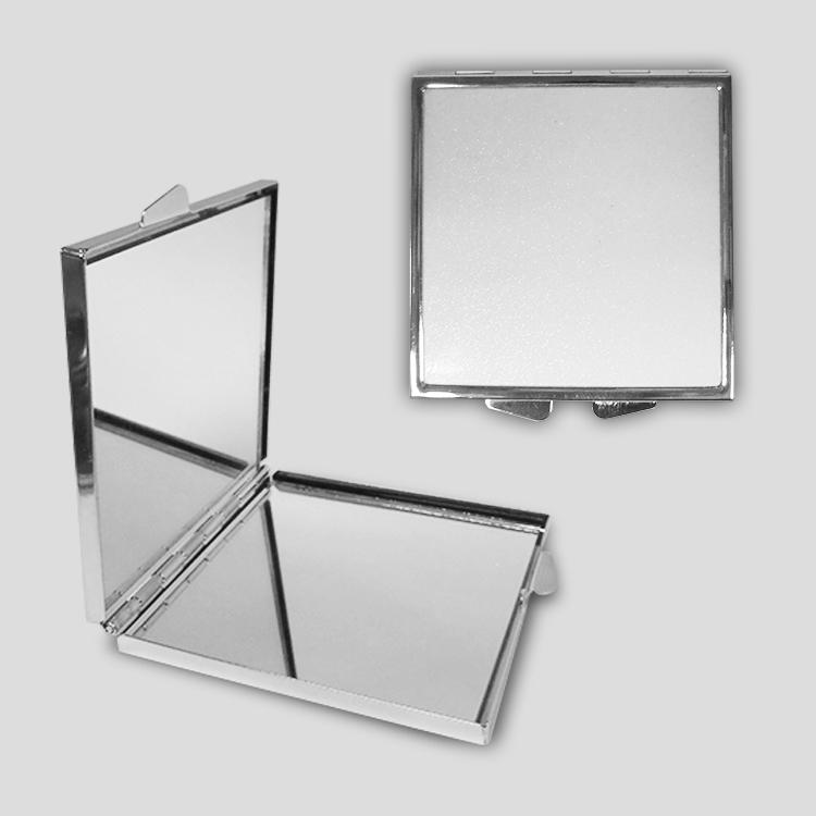 Зеркальце карманное, квадратное