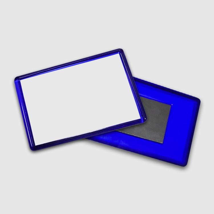 Магнит акриловый, прямоугольный (цветной)