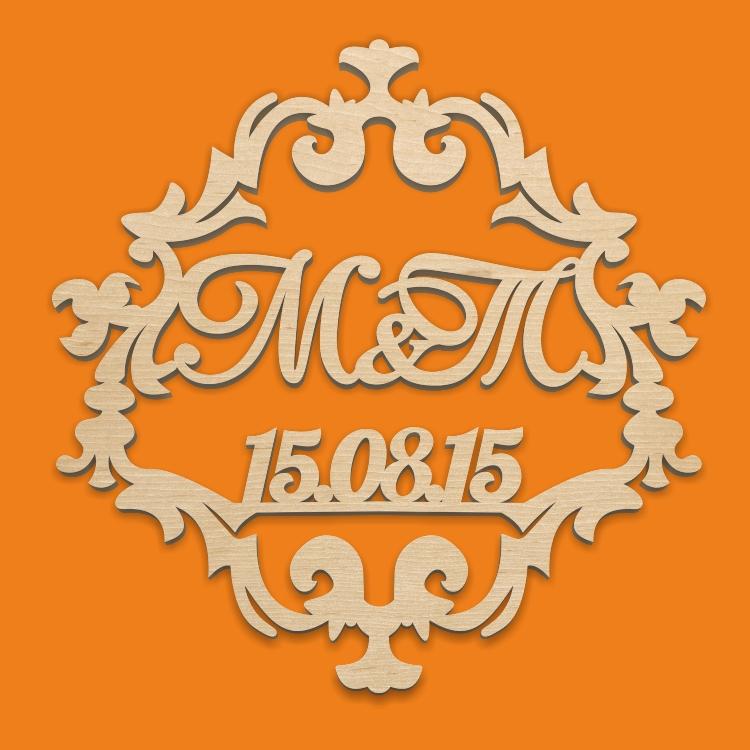 Свадебный герб №2